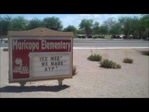 Maricopa Elementary School in the Subdivision of Alterra - Maricopa Arizona 85139