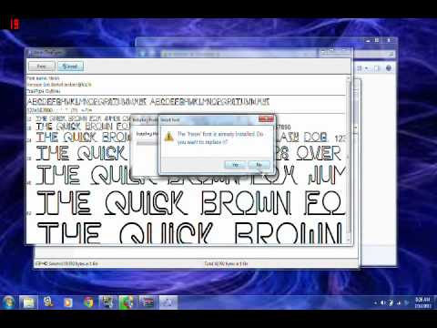 How to add fonts to photoshop cs6 youtube how to add fonts to photoshop cs6 ccuart Choice Image