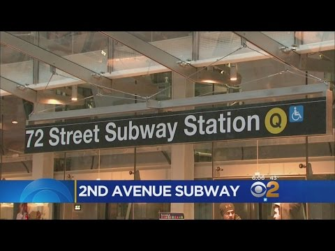 Second Avenue Subway To Open