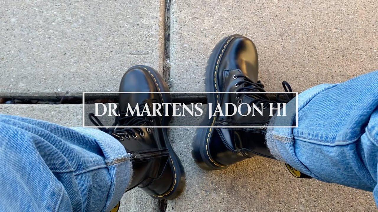 dr. martens jadon hi // review - YouTube