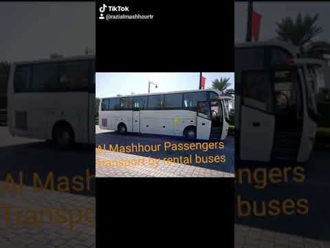 Bus Transportation Services All Over In Uae Youtube