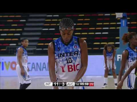 MICHAEL, Nicole: Interclube ANG - Club COD (12-11-17) FIBA Africa Women's Champions Cup 2017