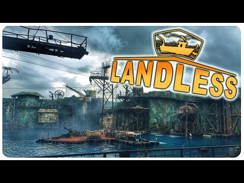Apocalyptic Open Sea Survival with PIRATES! | Landless Gameplay (PC)