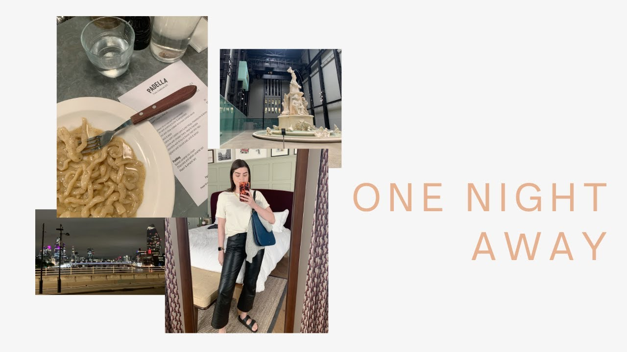 A Day In The Life: Our First Night Away | AD | The Anna Edit