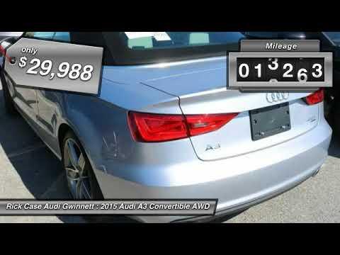 Audi A A YouTube - Audi gwinett