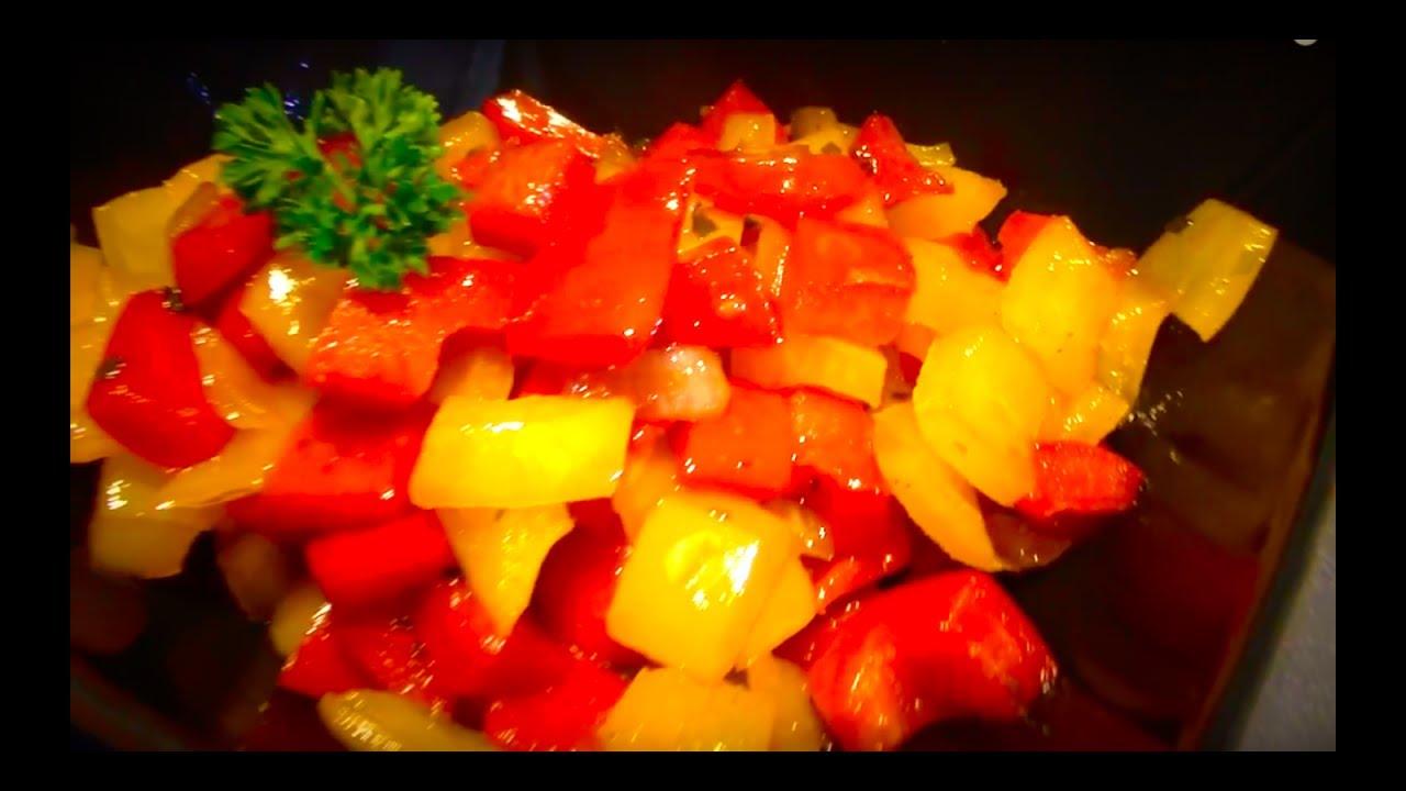 Comment cuisiner les poivrons youtube - Comment cuisiner des poivrons ...