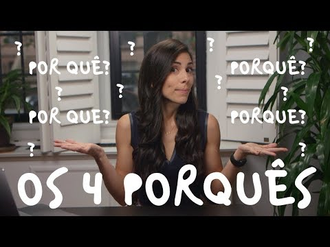 "THE 4 VARIATIONS OF THE WORD ""PORQUÊ"""