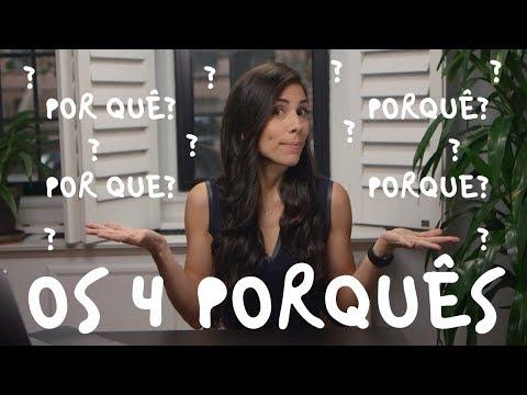 LEARN PORTUGUESE  4 Variations of the word PORQUÊ  Speaking Brazilian