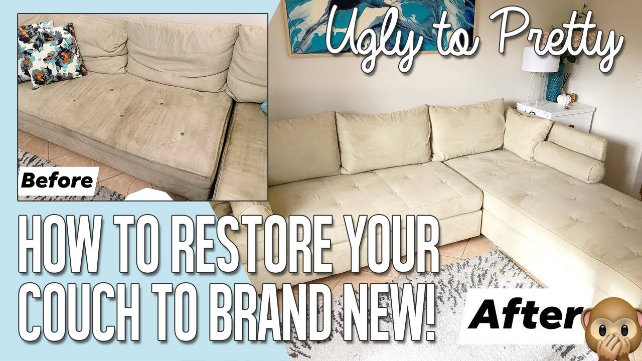 Microfiber Sofa Couch Sew Removable