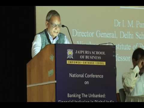 Dr. I M Pandey, Former Professor, IIM Ahmedabad at Jaipuria School of Business 6