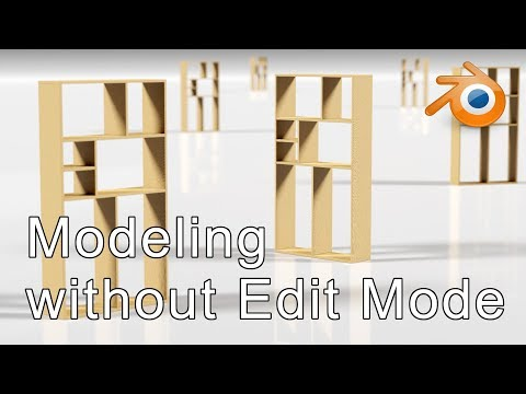 BEGINNER TUTORIAL | Model in Object Mode (no verts, edges or faces) Blender 2.8
