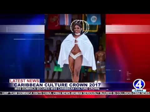 MISS DOMINICA SECURES MISS CARIBBEAN CULTURE CROWN