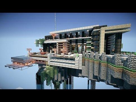 ハウス マイクラ モダン 【マイクラ街づくり】ガラスで作るおしゃれなモダンハウス