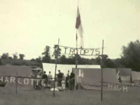 Boy Scout Camp 1937 in Color Troop 75 Charlotte High School Mendon Pond Camporee Rochester, NY