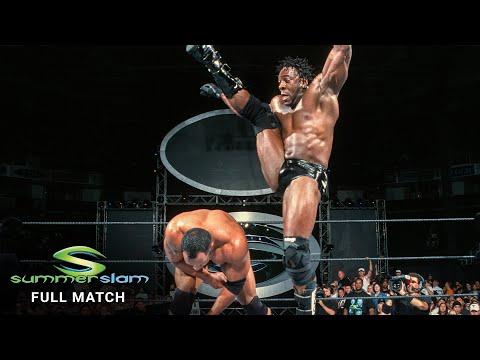 FULL MATCH: Booker T vs. The Rock – WCW Title Match: SummerSlam 2001