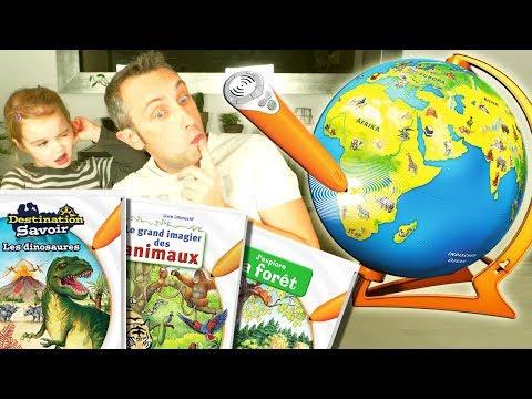 Livres, jeux et globe terrestre interactifs Ravensburger Tiptoi - Et le savoir s'anime ! (Unboxing)