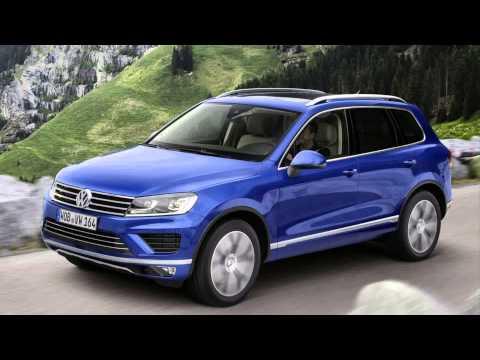 2015 Model Volkswagen Touareg Tdi Rle
