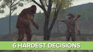 The 6 Hardest Decisions in Games (That You'll Get Wrong Either Way)