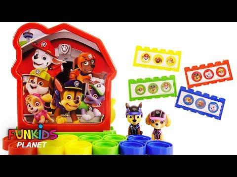 Paw Patrol Skye & Chase Play Dog House Bingo Game