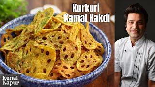 Kurkuri Kamal Kakdi or Crispy Lotus Stem | Kunal Kapur IPL Snack Recipes