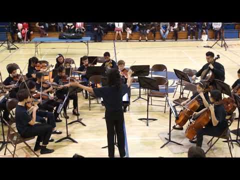 Orangeview Junior High School  2018 Winter Concert  2