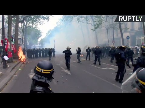 May Day marches and protests in Paris
