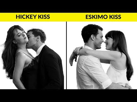 Different types of lip kisses videos