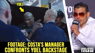 Paulo Costa rips Yoel Romero for being a 'dirty fighter'; Colby on Nate vs Masvidal; Yoel backstage