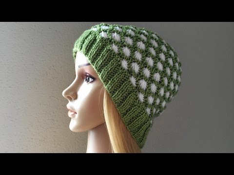 How To Knit A Aster Stitch Hat, Lilu's Handmade Corner Video