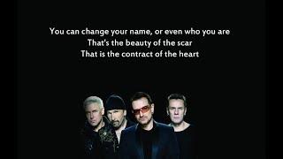 U2 Book of Your Heart Lyrics