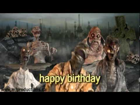 HAPPY (ZOM)B-DAY TO YOU: A Creepy Puppet Project Present
