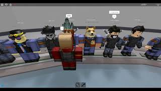 ¡Primera vez como deber en el lobby! Parte 1 - Roblox Innovation Security training Facility