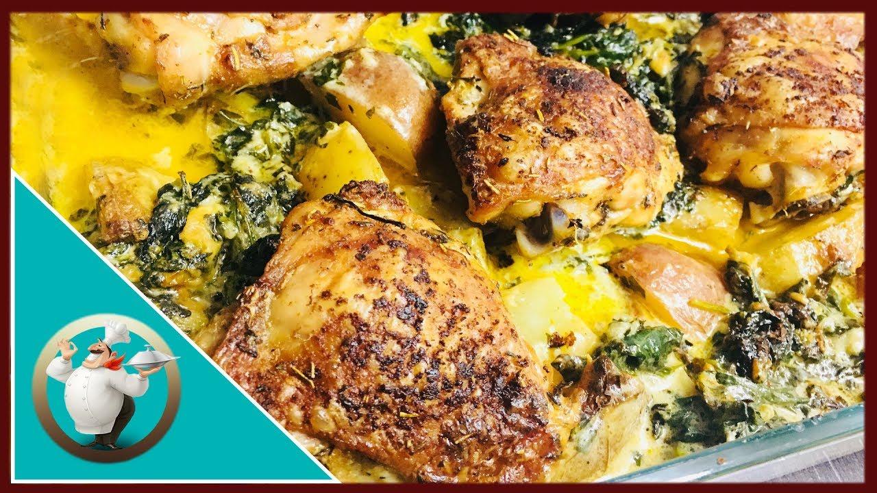 Creamy Garlic Butter Chicken Recipe Chicken With Creamy Garlic Butter Sauce And Potatoes