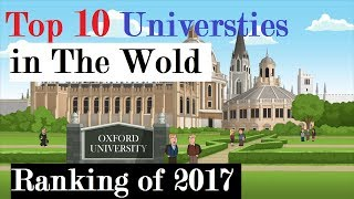 Top 10 Universities in the world 2017. Updated World Universities Ranking 2017