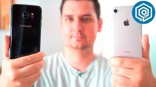 iPhone 7 VS Samsung Galaxy S7 edge | ¿Cuál es mejor?