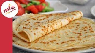 Kahvaltılık Krep Tarifi (Sesli Anlatımı Ile) | Nefis Yemek Tarifleri