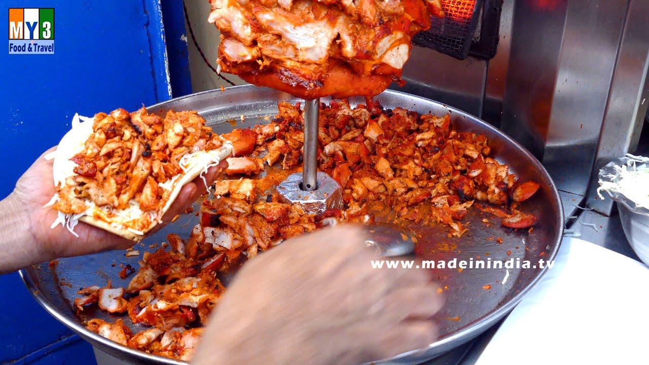Chicken shawarma pizza recipe mumbai street food street food youtube forumfinder Images