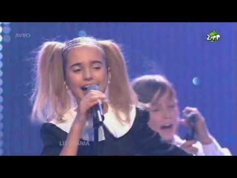 Junior Eurovision 2008: Eglė Jurgaitytė - Laiminga Diena (Lithuania)
