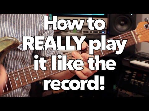 How to play Rock With You by Michael Jackson on guitar (ALL CHORDS)! Weekend Wankshop 194