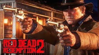 Red Dead Redemption 2 Gameplay German PS4 PRO - Zucker Zug Raub