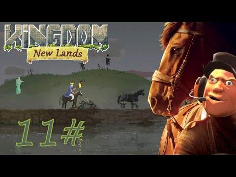 Kingdom New Lands | Warhorse - Unlocking the builder statue  | Part 11 | Let's play - Gameplay
