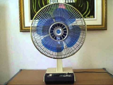 1976 Electrohome 30 Cm  12 U0026 39  U0026 39   Desk Fan