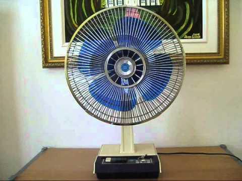 1976 Electrohome 30 cm 12 Desk Fan  YouTube