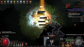 Path of Exile 3.0 Beta - Vengeance + Reckoning + Stun = Stun on Hit