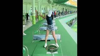 김지윤 프로 👍골프스윙 (골프여왕 골프스윙- golf swing golf queen) KLPGA
