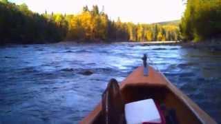 Falls Gully, Remontée de la rivière Bonaventure