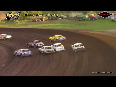 Hobby Stock Heats - Rapid Speedway - 5/18/18