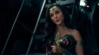Justice League / Aquaman Likes Wonder Woman Scene