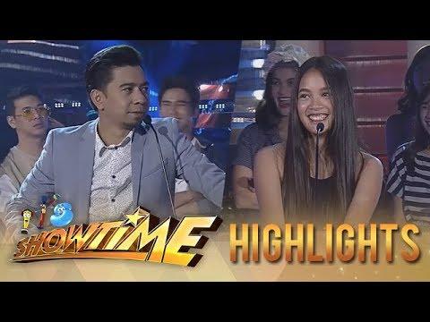 It's Showtime PUROKatatawanan: Teddy outwits Sammie with his joke