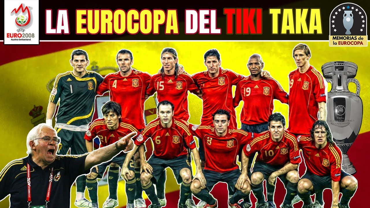 EUROCOPA 2008 🇪🇸 La ESPAÑA del TIKI TAKA ⚽️ ¡CAMPEONES! 🏆 Historia de la Euro
